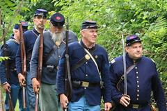 IMG_1317 (temeraire06) Tags: civilwar goosecreek reenactors loudouncounty upperville loudounvalley gettysburgprelude companyc20thmaine