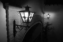 Farol sevillano (Jacobo Ballesteros) Tags: white black ladrillo blanco luz sevilla farola negro huelva seville patio farol blanche jacobo portada picos andaluz noire aracena marquez sevillano ballesteros aroche encinasola marocho