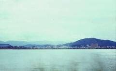 眉山と吉野川