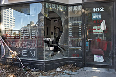 Christchurch - 2 Years after the Quake (scrumpy 10) Tags: newzealand christchurch earthquake nikon damage aotearoa neuseeland rebuilding d800 redzone containercity jacqualine ozeanien scrumpy10