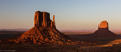 The fading sunlight (Thomas Frejek) Tags: arizona usa monumentvalleynavajotribalpark 2013 westmittenbutte eastmittenbutte tsébii'ndzisgaii oljatomonumentvalley