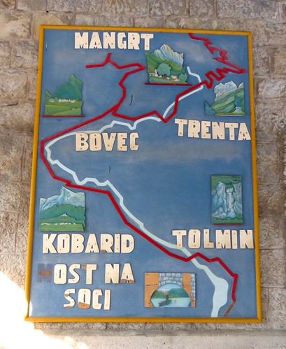 Sign, Most na Soči Train Station