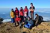 Puncak Gunung Ciremai (qefy) Tags: hiking hijab gunung awan sahabat kuningan langit agustus mendaki bendera persahabatan liburan semangat merahputih jawabarat renungan ciremai kebersamaan pegunungan muncak gunungciremai puncakgunungciremai pendakiangunungciremai