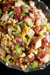 Roasted Corn and Potato Salad by Marie Porter