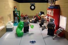 Avengers : School Daze (Legoagogo) Tags: ironman hulk thor avengers chichester afol theavengers legoagogo