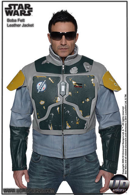 UD REPLICAS – 波巴.費特 BOBA FETT™ 真皮造型街頭夾克