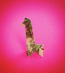 Dollar Giraffe (OrigamiVisionz) Tags: money bill origami dollar giraffe dublinfilter