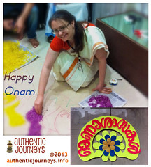 Onam-Profile-Photo (Jennifer Kumar) Tags: india kerala designs decor onam flowercarpet pookkalam 2013