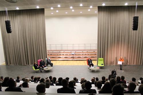 Inauguration du Centre universitaire de Clignancourt