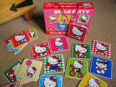 Hello Kitty pairs game (Jay Tilston) Tags: hello game kitty pairs matching