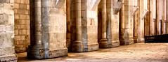 pilars... (jose_abc) Tags: old portugal canon monastery pillars monastre vieux mosteiro alcobaa piliers