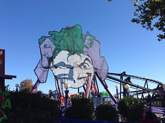 Joker (zcev5454) Tags: halloween st monster louis scary flags rollercoaster fest six fright sixflagsstlouis uploaded:by=flickrmobile flickriosapp:filter=nofilter
