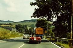 SAUERLAND (D) c1978 by JS (streamer020nl) Tags: summer cars germany deutschland d sommer scan 1978 1977 slides 1979 js sportscar sauerland lkw sportwagen pkw hochsauerland autovermietung badmarienberg dcy118
