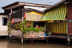 Boat trip Mekong River, Bangkok (Terra eVita) Tags: city trip travel cruise urban water architecture rural river thailand boat asia southeastasia bangkok citylife streetlife ciudad boattrip mekong boatride mekongriver klongs