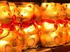 choc b_9969w (cdn-pix) Tags: red happy gold golden chocolate bears row ribbon bows sittin