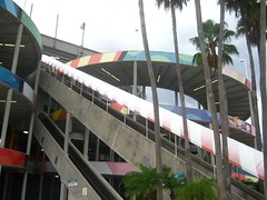 "Escalators at Sun Life Stadium • <a style=""font-size:0.8em;"" href=""http://www.flickr.com/photos/109120354@N07/11047173786/"" target=""_blank"">View on Flickr</a>"