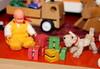A Caco baby and... (*blythe-berlin*) Tags: orange vintage göteborg toys furniture gothenburg 70s möbel byebye spielzeug dollhouse puppenhaus lundby cacodolls biegepuppen doll´shouse 70zigerjahre