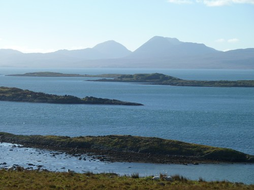 The McCormick Islands and the paps of Jura