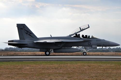 A44-203 Boeing F/A-18F Super Hornet RAAF