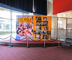 Entertainment, The Wolf of Wall Street at ArcLight Beach Cities, Stretched Graphic