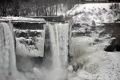 Niagara Fall in Winter (khoosh) Tags: winter snow ontario canada ice niagarafalls frozen moments khashayar