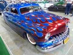 1950 Mercury (bballchico) Tags: paint mercury flames flame custom fatboy 1950 merc kustom grandnationalroadstershow suedepalace grandnationalroadstershow2014 chuckteixeria