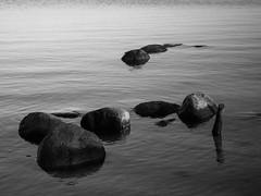 gathered (christiane wilke) Tags: sea water landscape rocks baltic ostsee greifswald wieck bodden