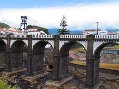 Ponte dos Oito Arcos, Ribeira Grande (twiga_swala) Tags: bridge portugal miguel architecture river grande ponte sao portuguese so ribeira azores arcos aores oito