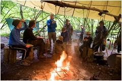 Father&Son sept. '13 (Iedereen naar Buiten) Tags: john outdoor vader buiten zoon iedereen buitenspelen bushcraft buitenleven buitenslapen