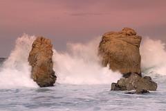 Garrapata Surf (markvcr) Tags: california rock landscape surf waves ngc scenic bigsur wave highway1 carmel geology garrapata stacks