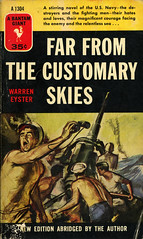 Bantam Books A1304 - Warren Eyster - Far from the Customary Skies (swallace99) Tags: vintage wwii paperback destroyer usnavy bantam