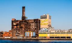 New York. Old sugar factory (Vlahos Stamatis) Tags: usa newyork nikon eastriver d90 dominosugarrefinery