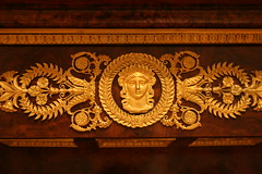 Gold Decorated Furniture (shaire productions) Tags: sf sanfrancisco art history museum vintage european artistic style historic legionofhonor imagery