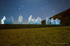 Last Supper, Rhyolite Ghost Town, Nevada (jev) Tags: art night stars angle nevada ghost wide ghosttown deathvalley rhyolite beatty scupture lastsupper wate albertszukalski leicam9 trielmar161821mm