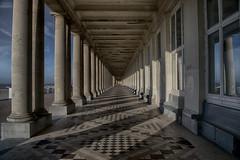 Shadowpillar (Gikon) Tags: light beach architecture coast nikon shadows details 1855mm pillars nd8 colorefexpro gikon d3100