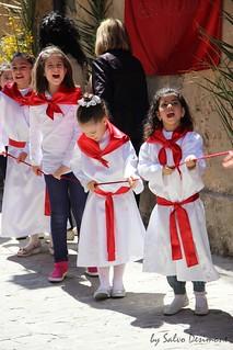 Mazzarino Processione Signore dell'Olmo 2014