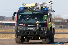 Fire Tender 3 Rosenbauer CA5 Panther Glasgow Airport (kw2p) Tags: scotland unitedkingdom firetruck vehicles fireengine paisley glasgowairport firetender egpf egpfgla yk12cxr rosenbauerca5panther