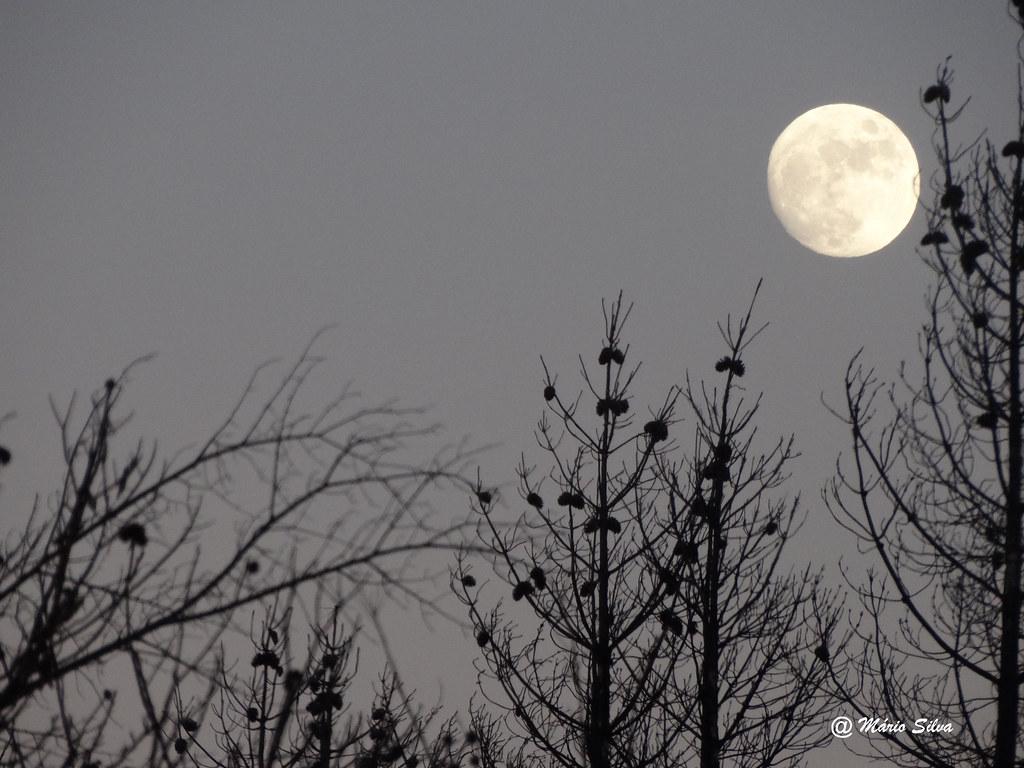 Águas Frias (Chaves) - ... lua cheia invernosa ...