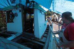 IMG_3944 - Port Hadlock WA - Northwest School of Wooden Boatbuilding - 2013 Repair and Restoration - HOBO - (BlackShoe1) Tags: wood port boat washington olympicpeninsula wash pacificnorthwest wa jefferson woodenboat washingtonstate hobo woodboat boatrepair countyeast porthadlockwa boatwooden hobohobohobo hadlockjefferson countymv repairwood tugwoodtug