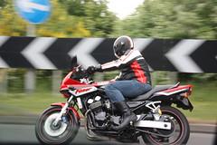 Me and the Bike (Chris McGuckin) Tags: 600 motorcycle yamaha fazer