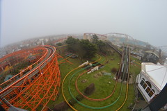 From the Top Layer of the Revolution Queue (CoasterMadMatt) Tags: park wood uk greatbritain england cloud mist fish west eye english beach weather misty fog amusement wooden nikon ride angle streak photos unitedkingdom britain low north wide foggy wideangle lancashire fisheye photographs gb land roller amusementpark british rides rollercoaster arrow bigone coaster blackpool pleasure attraction coasters fisheyelens rollercoasters nickelodeon steeplechase woodencoaster lancs hypercoaster lowcloud pleasurebeach wideanglelens nikond3200 blackpoolpleasurebeach 2015 thebigone pepsimaxbigone northwestengland woodenrollercoaster d3200 pleasurebeachblackpool infog nickelodeonland nickelodeonstreak coastermadmatt coastermadmattphotography arrowhypercoaster pleasurebeachinfog pleasurebeachblackpool2015 blackpoolpleasurebeach2015