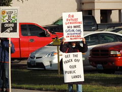 DSCN6533 (WildEarthGuardians) Tags: protest wyoming climate publiclands leasing oilandgas fracking keepitintheground