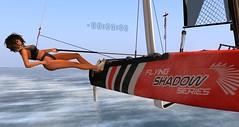morning_sailing...(0) (agaas_nigig) Tags: sea speed sailing wind foil sl secondlife catamaran