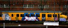 traingraffiti (wojofoto) Tags: holland amsterdam graffiti nederland netherland traingraffiti moek wolfgangjosten wojofoto treingraffiti
