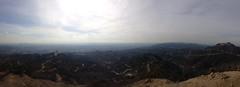 IMG_7174 (Lovely Nutty) Tags: california sky skyline la losangeles hiking pano hills