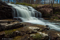 Spring at Upper Rockway Falls (awaketoadream) Tags: blue green water rock town spring rocks long exposure niagara falls upper lincoln region cascade escarpment rockway