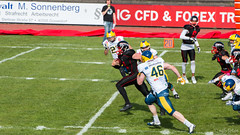 GFL-2016-Panther-9928.jpg (sgh-fotos) Tags: football nfl bowl german panthers sack dsseldorf touchdown defence invaders hildesheim dline fumble gfl amarican quaterback oline interception ofence