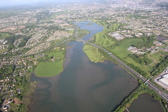 Rochestown & Mahon (Rob O'Connor) Tags: road city training canon river cityscape traffic cork aviation south flight aerial atlantic lee link academy rochestown cessna 172 mahon g1000 96fm 550d