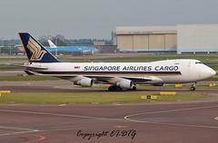 Boeing 747-412F 9V-SFN Singapore Als (Cargo) (EI-DTG) Tags: holland amsterdam boeing schipol ams boeing747 jumbojet jumbo lump b747 singaporeairlines planespotting aircraftspotting queenoftheskies 9vsfn 18may2016