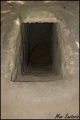 Entrada Tunel (Mar Santorio) Tags: d50 nikon vietnam cuchi saigon hochiminh cuchitunel tunelesdecuchi